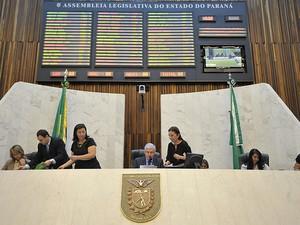 O fim da Mesa Executiva é dos pontos do relatório para mudanças no Regimento Interno da Assembleia do Paraná  (Foto: Sandro Nascimento/ Divulgação/ Alep)