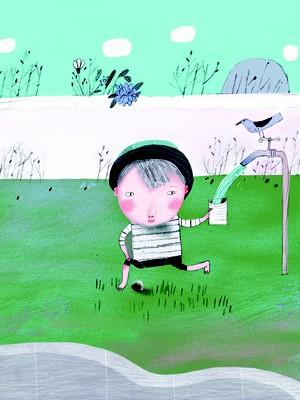 ilustração, quintal, conto, a sopa de pedro (Foto: Ilustração: Lúcia Brandão)