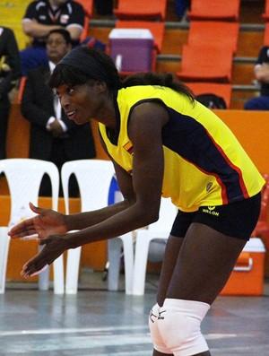 Madelaynne Montaño, da seleção da Colômbia (Foto: Estephanie Jaime Valle)