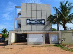 Caso foi registrado na Segunda Delegacia de Polícia Civil de Ji-Paraná (Foto: Pâmela Fernandes/G1)