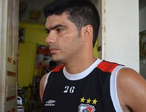 Wendel quer mais um títulos sergipano, desta vez pelo River (Foto: Felipe Martins)