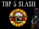 Guns N' Roses volta com Slash e Axl; vídeo mostra top 5 do guitarrista