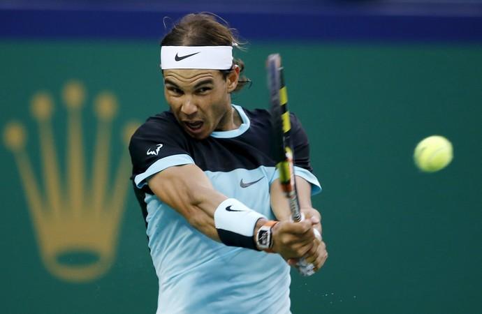 Rafael Nadal x Stanislas Wawrinka Masters 1000 de Xangai (Foto: Reprodução)