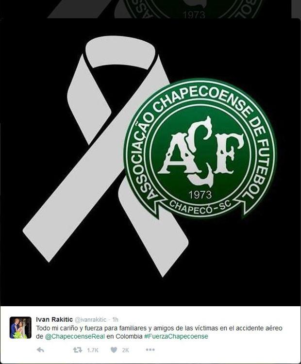 Ivan Rakitic, jogador do Barcelona (Foto: Reprodução/Twitter)