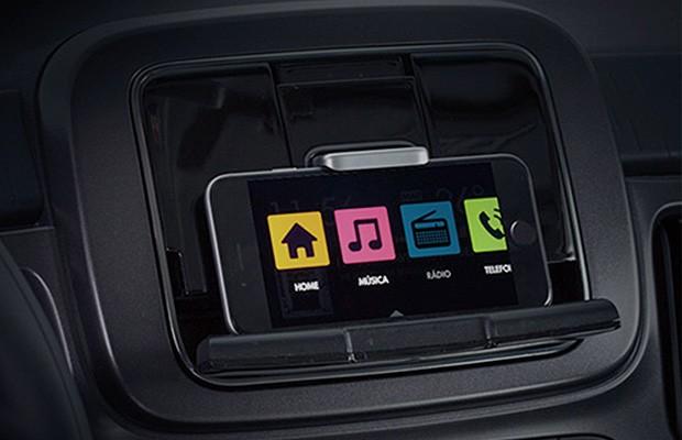 Sistema Live on do Fiat Mobi (Foto: Reprodução)