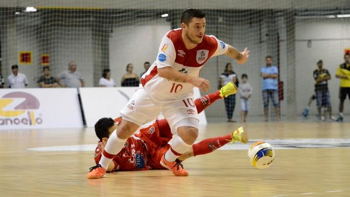 Foglia Sorocaba Futsal (Foto: Henrique Porto/Agência Avante!)