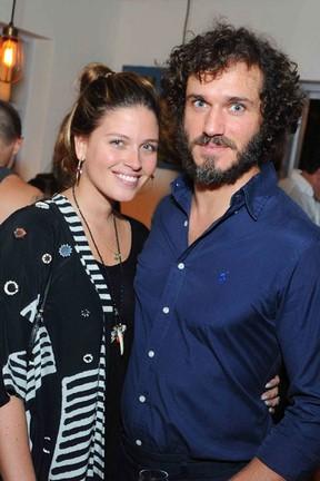 Paulo Rocha e Juliana Pereira em festa na Zona Sul do Rio (Foto: Ari Kaye/ Divulgação)