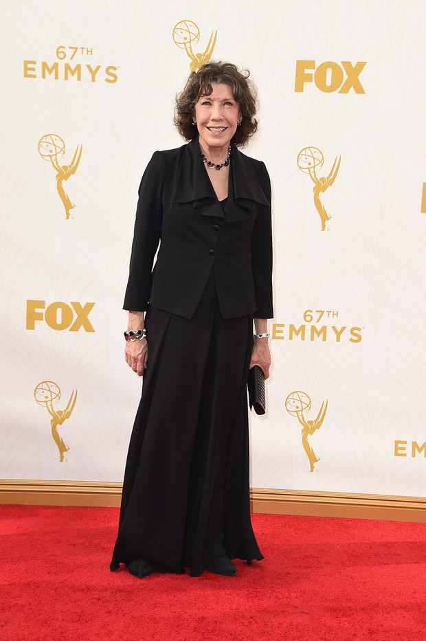 Lily Tomlin no Emmy Awards (Foto: Getty Images)