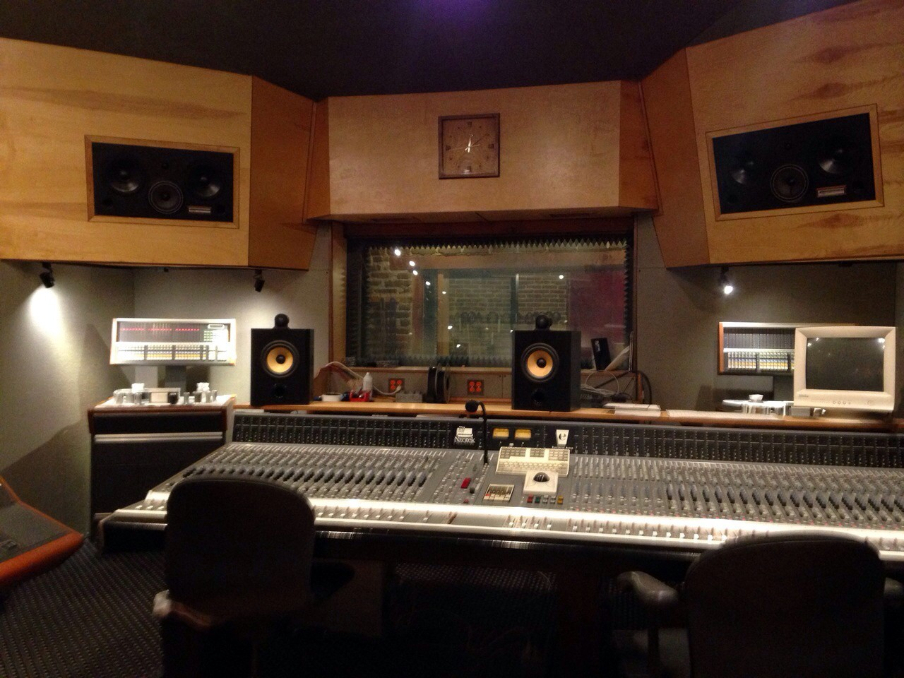 Electrical Audio Studio em Chicago (Foto: Louise Palma)