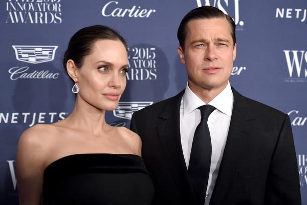 Brad Pitt e Angelina Jolie já são pais de seis crianças (Foto: Getty Images)