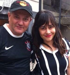 Alessandra Negrini Corinthians (Foto: Reprodução/Instagram)