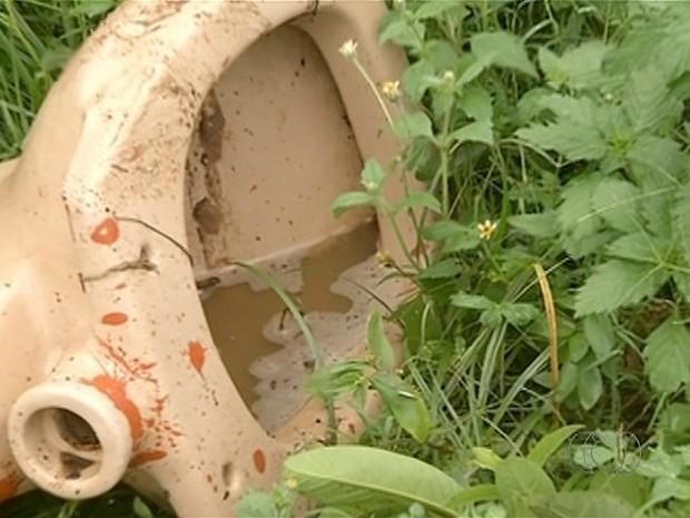 Lotes baldios com lixo preocupa moradores de Araguaína (Foto: Reprodução/TV Anhanguera)