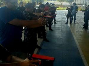 Guardas municipais vão utilizar armas não letais (Foto: Divulgação)