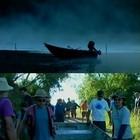 Grupo se reúne para descer leito do Rio Camaquã  (Reprodução/RBS TV)
