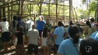 Idosos visitam zoológico de Santarém pela primeira vez