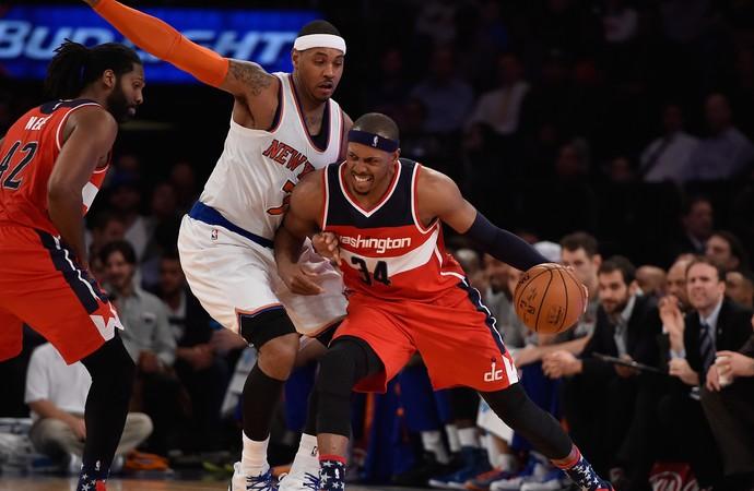 Paul Pierce Wizards x Knicks NBA (Foto: Getty)