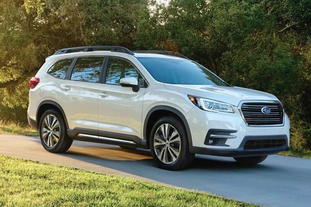 Subaru Ascent tem linhas semelhantes ao do conceito apresentado em Nova Iorque (Foto: Divulgação)
