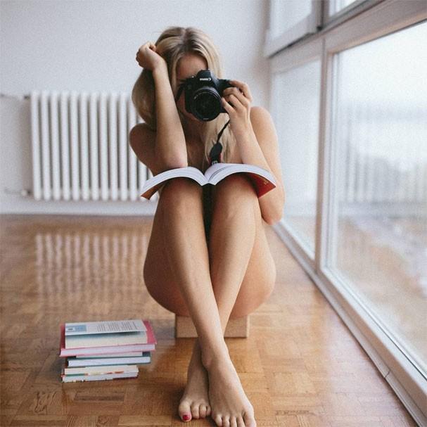 Nude Yoga Girl (Foto: Reprodução/Instagram)