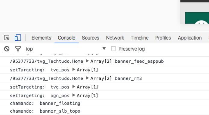 Ícones na barra de Ferramentas de Desenvolvedor (Foto: Reprodução/André Sugai)