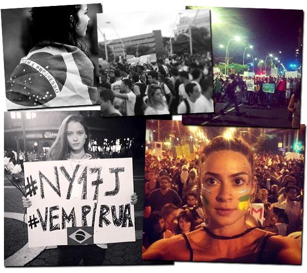 Nas ruas ou no Insta, nomes da moda apoiam dia de protestos
