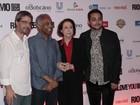 Pré-estreia de 'Rio, eu te amo' reúne famosos em cinema na Zona Sul do Rio