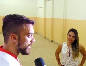 Tiago Barreiros meia do Potiguar de MOssoró Camila (Foto: Marcelo Diaz/Divulgação)