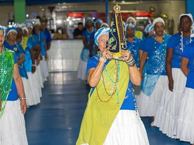 Nossa Senhora Aparecida será tema da Vila Maria no Carnaval 2017 (Foto: Paulo Sadao)