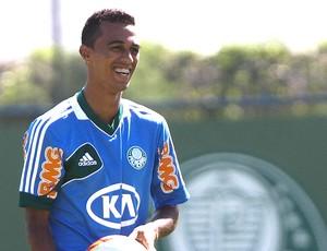 Juninho no treino do Palmeiras (Foto: Ag. Estado)