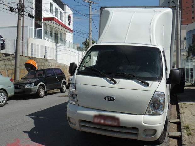 Caminhão foi recuperado em Jundiaí (Foto: Guarda Municipal de Jundiaí / Divulgação)