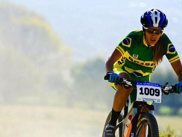 Isabella Lacerda atleta de Itaúna MG  de Mountain Bike Cross Country (Foto: Maximiliano Blanco/Arquivo pessoal)