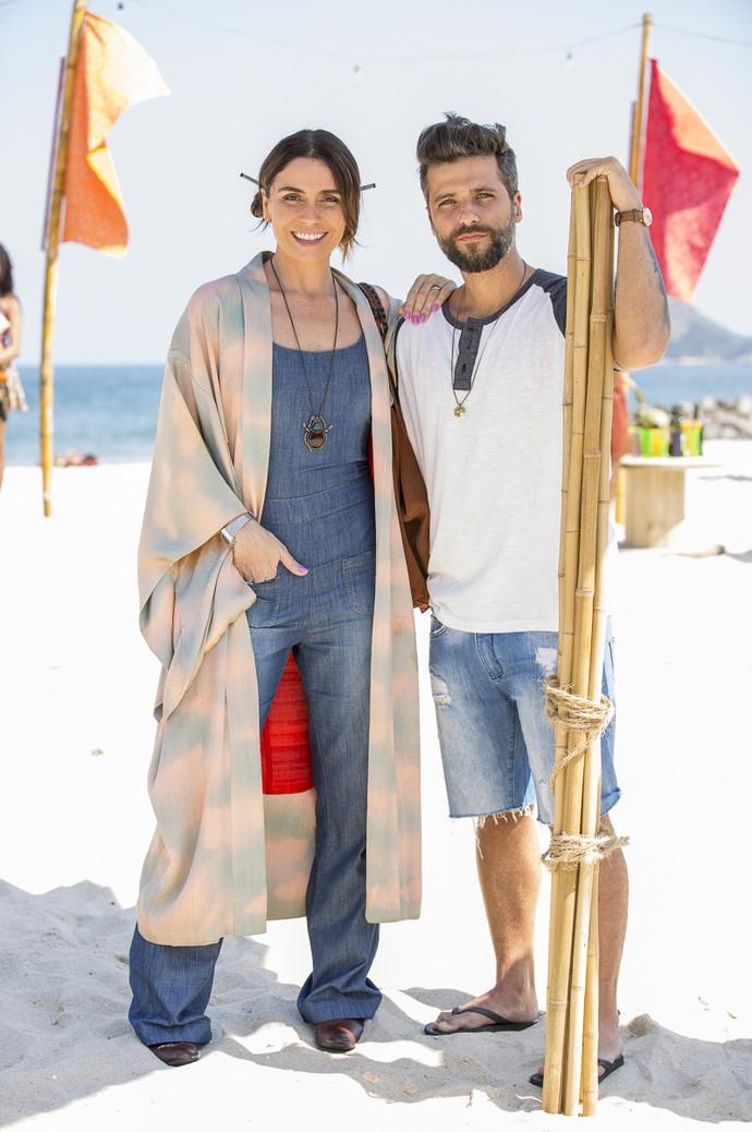 Personagem de Giovanna Antonelli investe em quimonos (Foto: Ellen Soares / Gshow)