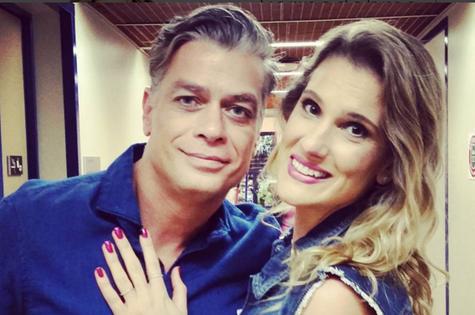 Karina Dohme e Fabio Assunção (Foto: Reprodução)