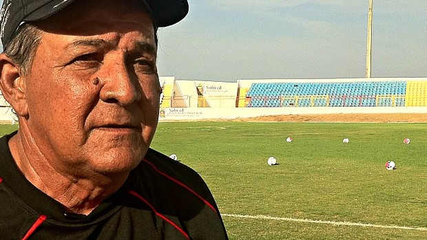 Teco-Teco sonha em retonar o Guarany à Série C do Brasileirão (Foto: Diego Morais / Globoesporte.com)