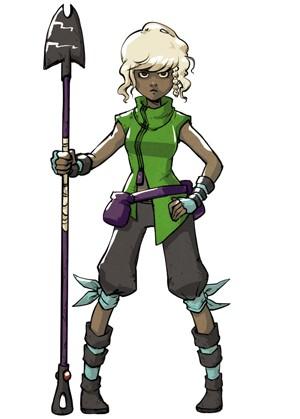 Protagonista de 'Skytorn' é mulher e negra. Para Amora Bettany, isso tem que ser encarado com naturalidade, e não com surpresa (Foto: Amora Bettany/Arquivo Pessoal)