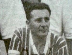 Alcy Simões, maior artilheiro da história do Rio Branco-ES (Foto: Reprodução/Livro Rio Branco Atlético Clube - Histórias e Conquistas)
