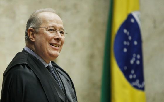 O ministro Celso de Mello desempatou nesta quarta a votação sobre embargos infringentes (Foto: Nelson Jr./SCO/STF)