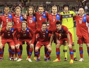 Rep Tchaca Seleção Euro 29/02/2012 (Foto: Agência AFP)