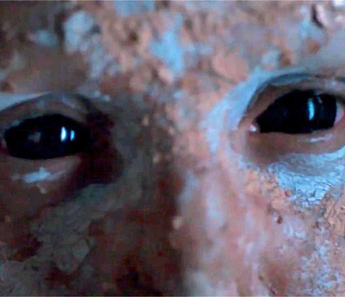 Close de criatura bizarra aparece em estreia de Supermax (Foto: TV Globo)
