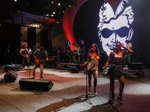 Blitz toca na festa do Ano Novo na Paulista. (Foto: Vagner Campos/G1)