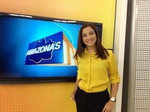 Liliane Araújo, apresentadora do Amazonas TV (Foto: Divulgaçao/Rede AM)