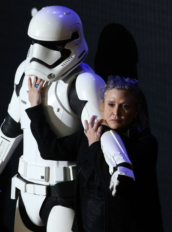 Carrie Fisher (Foto: AFP)