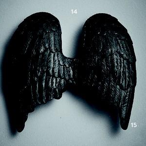 Escultura asas, de resina (Foto: Guto Seixas / Editora Globo)