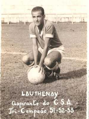 Lauthenay, no aspirante do CSA (Foto: Arquivo Museu dos Esportes)