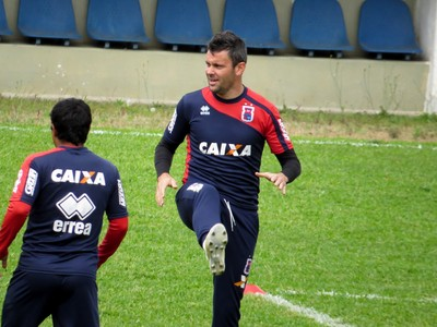 Atacante Giancarlo Paraná Clube (Foto: Fernando Freire)