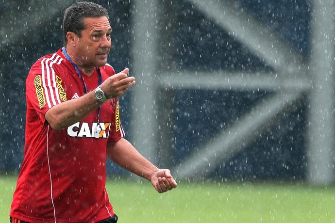 Treino do Flamengo Luxemburgo (Foto: Gilvan de Souza / Fla Imagem)
