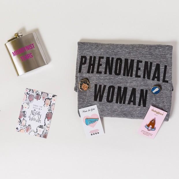 Mensagens feministas em produtos adocicados (Foto: Divulgação)
