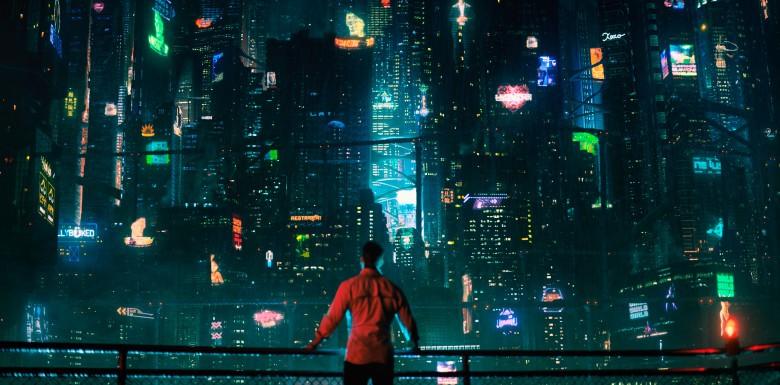 A série se passa no futuro, quando mentes podem ser digitalizadas e transferidas entre corpos (Foto: Divulgação)