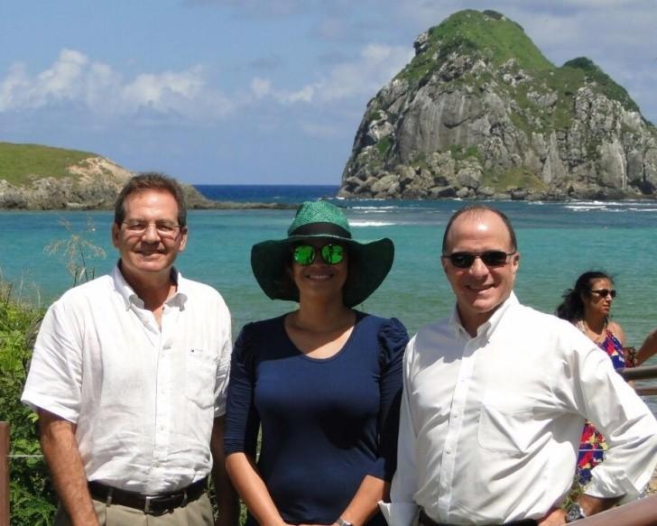 Stuart Beechler, Grazielle Rodrigues e Richard Reiter