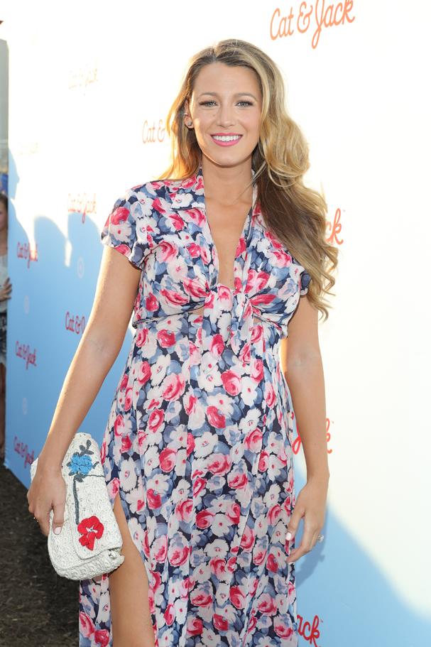 Blake Lively grávida pela segunda vez em evento no dia 21 de julho de 2016 (Foto: Neilson Barnard / Getty Images)