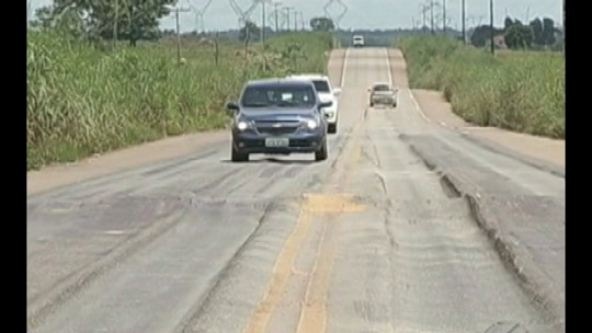 Principais rodovias de Marabá, PA, têm buracos e ondulações no asfalto